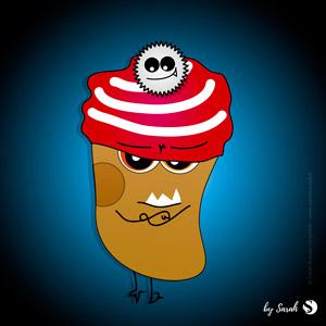 Mr Brrr la Monstro Pomme de terre