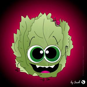 Gniouf, la monstro salade