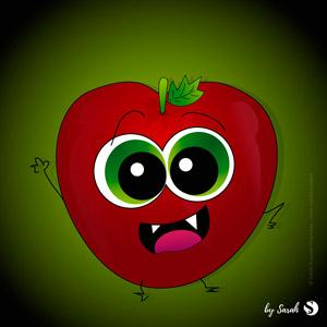 Adam, la monstrueuse pomme à croquer
