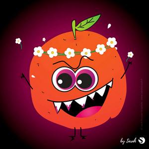 Gina, l'orange qui sait aussi être bien méchante
